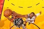 Boris Diaw #33 of the San Antonio Spurs