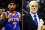 Carmelo Anthony et Phil Jackson