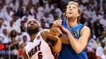 Dirk Nowitzki à LeBron James