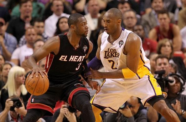 Dwyane Wade et Kobe Bryant
