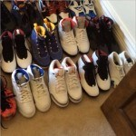 Gilbert Arenas montre son incroyable collection de chaussures