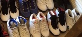 Vidéo: Gilbert Arenas montre son incroyable collection de chaussures