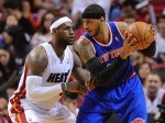 LeBRon James et Carmelo Anthony