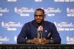 LeBron James #6 of the Miami Heat