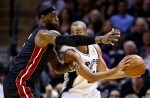 LeBron James et Tony Parker