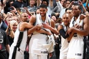 Les San Antonio Spurs sont champions NBA !