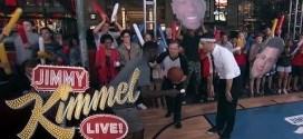 Jimmy Kimmel a aussi affronté Nate Robinson en 1-contre-1
