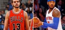 Joakim Noah pion d'un plan cupide de Carmelo Anthony pour rester à New York ?