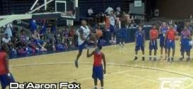 Les meilleurs lycéens font un concours de dunks auNBA Top 100 Camp