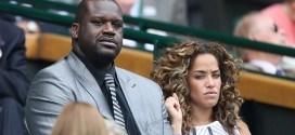 Photos : Shaquille O'Neal VIP à Wimbledon