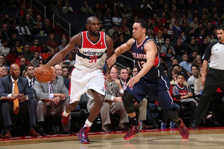 Chris Singleton #31 of the Washington Wizards