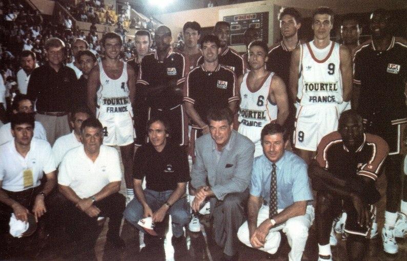 Dream Team vs France 1992 Monte-Carlo