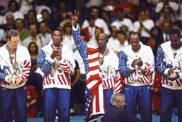 Dream team 1992 gold