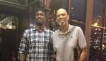 Kareem Abdul-Jabbar et Roy Hibbert