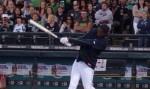 Kobe Bryant baseball home run