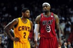 LeBron James et Kyrie Irving