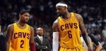 LeBron James et Kyrie Irving