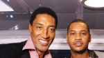 Scottie Pippen et Carmelo Anthony