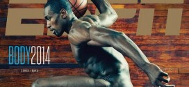 Serge Ibaka pose nu pour Body Issue d'ESPN