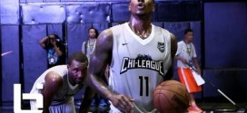 Iman Shumpert brille chez lui lors de la Chi League Pro Am