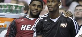 Le message de soutien de LeBron James pour Chris Bosh