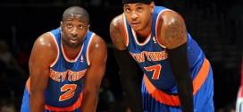 Comme Tyson Chandler, Raymond Felton tente de recruter Carmelo Anthony