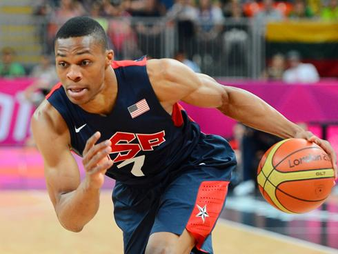 russell westbrook team usa