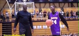 Vidéo: Michael Jordan affronte un participant de son camp en 1-contre-1