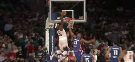 Les deux gros dunks d'Andre Drummond