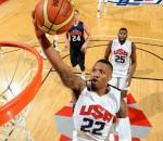 Damian Lillard #22 of the USA White Team