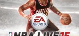 Damian Lillard sera sur la jaquette de NBA Live 15