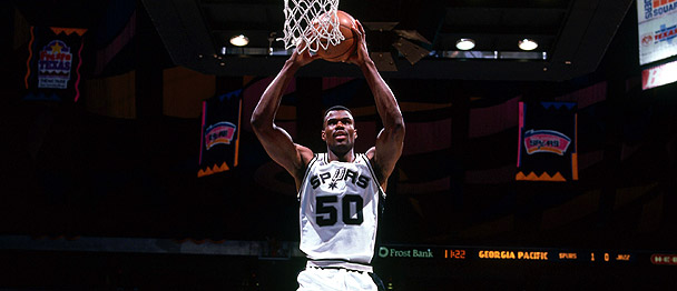 David Robinson dunk