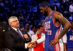 David Stern et LeBron James