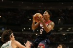 Derrick Rose #6 of the USA Basketball Men