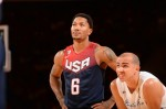 Derrick Rose #6 of the USA Basketball Men's National Team