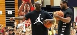 Vidéo: Michael Jordan et Kawhi Leonard s'affrontent sur un concours de shoots