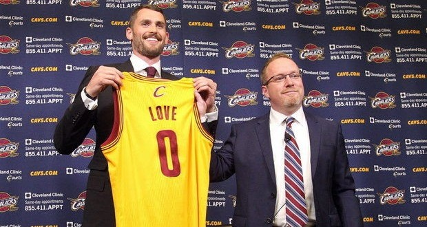 Kevin Love: LeBron James m'a appelé et je lui ai dit 'j'en suis'