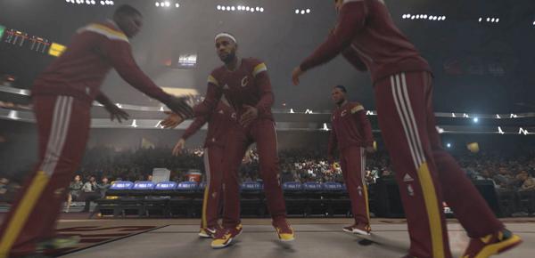 Le tout dernier trailer de NBA 2K15