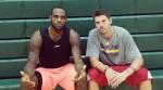 LeBron James et Mike Miller