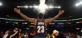 Le retour du Powder Toss de LeBron James à Cleveland ?