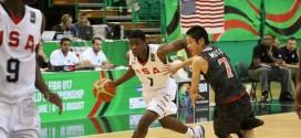 U17: Malik Newman brise les chevilles d'un joueur japonais