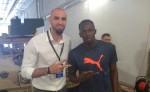 Marcin Gortat et Usain Bolt