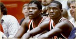 Michael Jordan et Patrick Ewing 1984