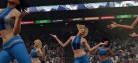 Vidéo: les cheerleaders dans NBA 2K15