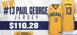 Paul George explique son changement de numéro