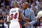 Ray Allen et Doc Rivers