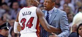 Les Clippers pas une option pour Ray Allen selon Doc Rivers