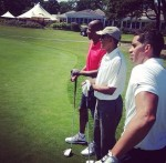 Ray Allen joue au golf avec Barack Obama