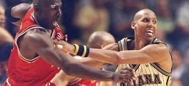 Vintage: le début de bagarre entre Michael Jordan et Reggie Miller