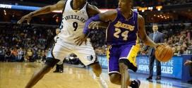 Kobe Bryant vsTony Allen:une guerre dans le plus grand respect
